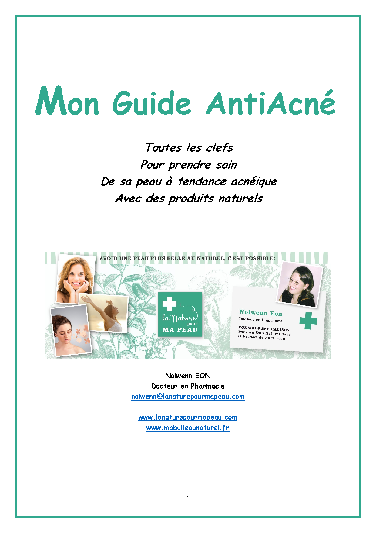 ~ NEWS ! Mon Guide Complet AntiAcné ~